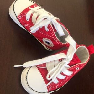 Red Size 2 Infant Converse